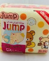 پوشک بچه استخری جامپ jump ضدآب و شورتی سایز 4 تعداد 24 عددی
